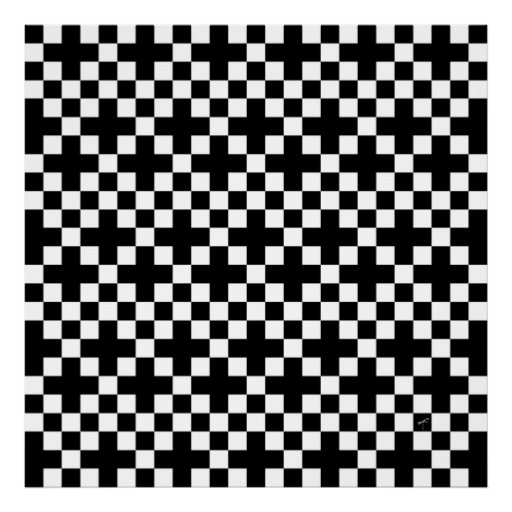 Crossed Squares, Poster