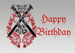 940128556 Leo Tribal Lion Tattoo Custom Greeting Card. $3.30. 15% Off with code  HAPPYZMAYDAY. Crossed Swords Dragon Card. Crossed Swords Dragon Card