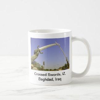 Crossed Swords, IZ, Baghdad, Iraq Coffee Mug