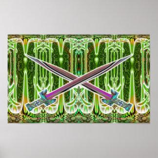 Crossed Swords  Print