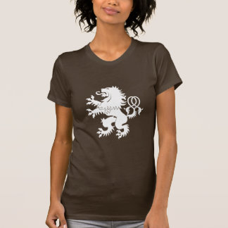 Crossed Tail Rampant Lion Heraldry T-Shirt