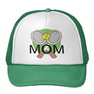 Crossed Tennis Rackets Trucker Hat