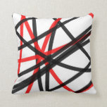 Crossed The Line Throw Pillow