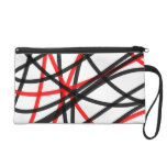 Crossed The Line Wristlet Clutch