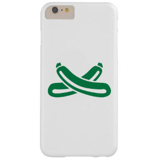 Crossed zucchini barely there iPhone 6 plus case