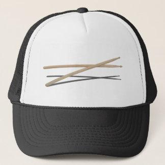 CrossedDrumSticks042211 Trucker Hat