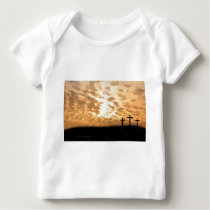 Crosses and Sunset Easter Infant Shirt