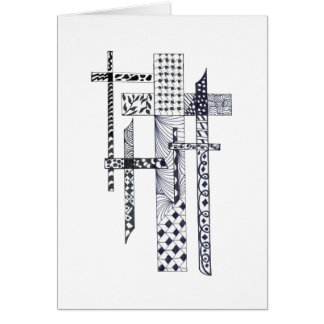Crosses Confirmation Card