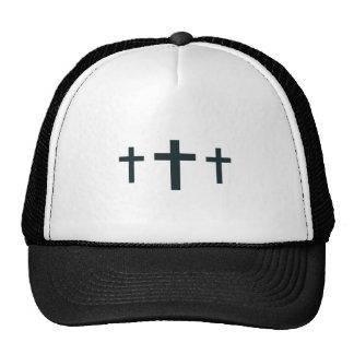 CROSSES FOR COLLAR TRUCKER HAT