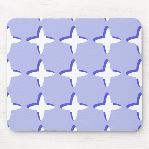 Crosses Pattern Mouse Pads