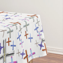 Crosses Tablecloth