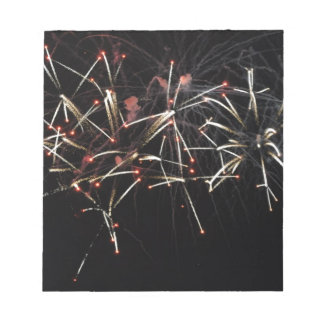 Crossette Fireworks Memo Pad