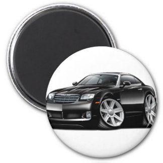 Crossfire Black Car Magnet