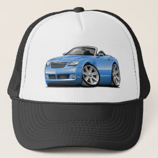 Crossfire Lt Blue Convertible Trucker Hat