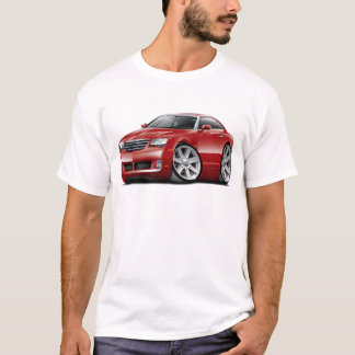Crossfire Maroon Car T-Shirt