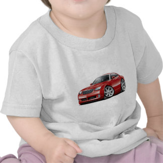 Crossfire Maroon Car T-shirts