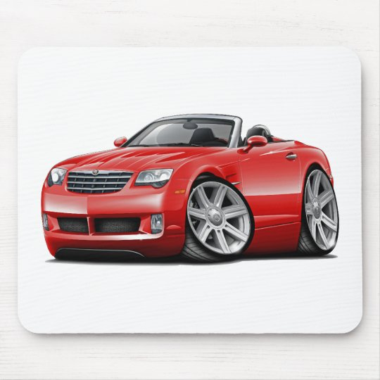 Crossfire Red Convertible Mouse Pad