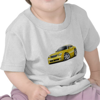 Crossfire Yellow Car T-shirts