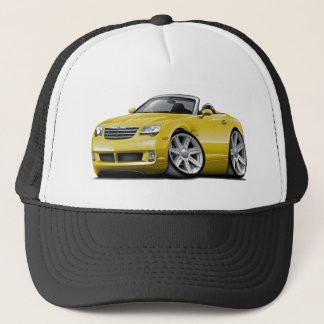 Crossfire Yellow Convertible Trucker Hat