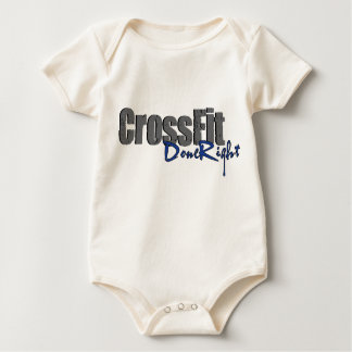 CrossFit DoneRight Logo Baby Bodysuit