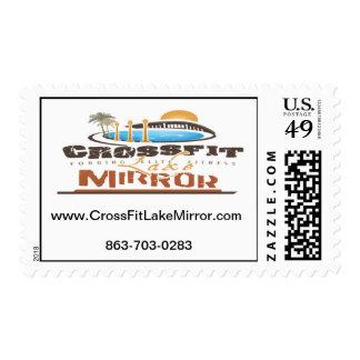 CrossFit Lake Mirror - Stamp