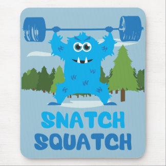CrossFit Snatch Squatch Mouse Pad
