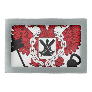 Crossfit WOD Coat Of Arms Belt Buckle