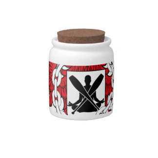 Crossfit WOD Coat Of Arms Candy Dish