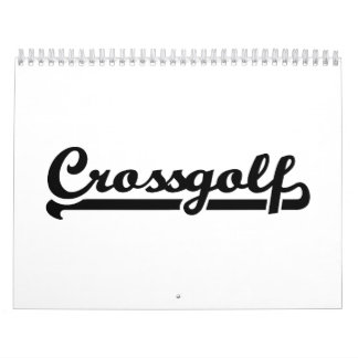 Crossgolf Calendar