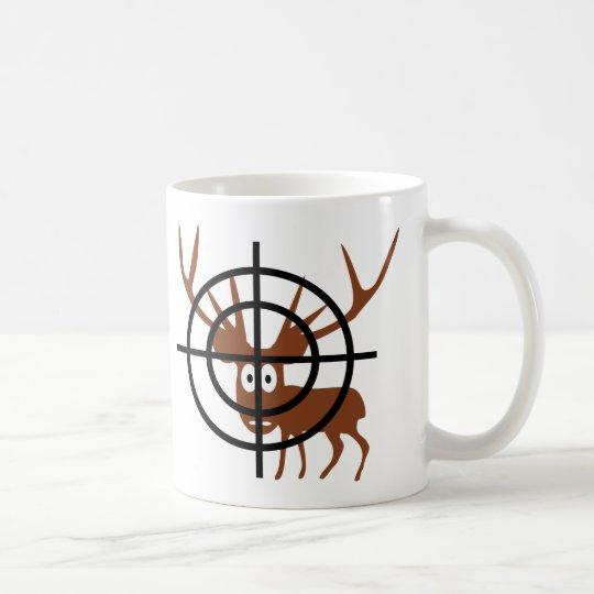 Crosshair Deer Coffee Mug