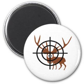 Crosshair Deer Magnet