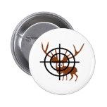 Crosshair Deer Pin