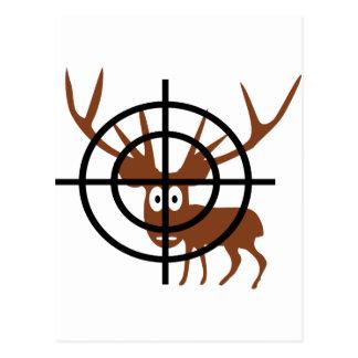 Crosshair Deer Postcard