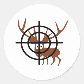 Crosshair Deer Sticker