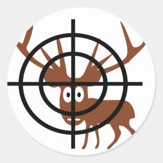 Crosshair Deer Stickers