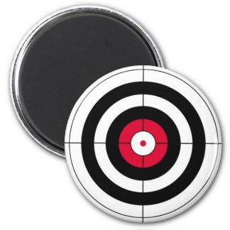Crosshairs BullsEYE Target 2 Inch Round Magnet
