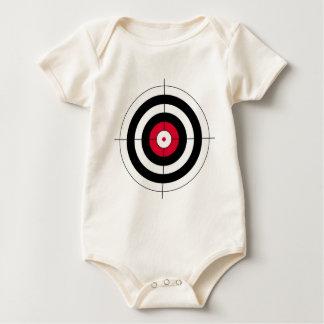 Crosshairs BullsEYE Target Baby Bodysuits