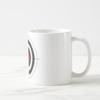 Crosshairs BullsEYE Target Classic White Coffee Mug