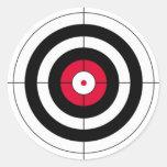 Crosshairs BullsEYE Target Sticker