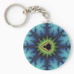 Crosshairs - Fractal Keychain