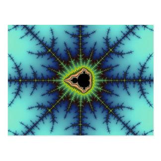 Crosshairs - Fractal Postcard
