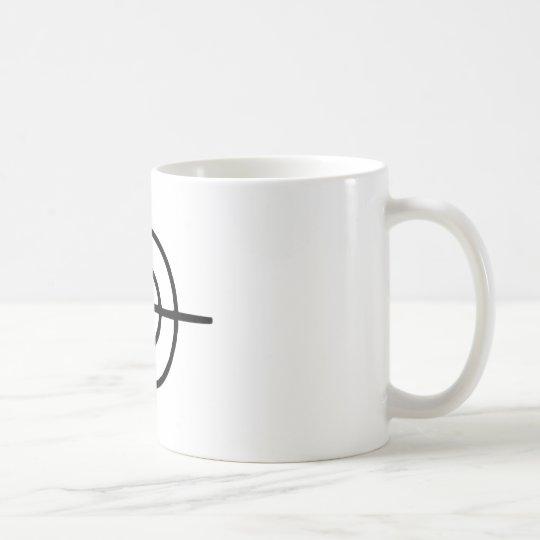 Crosshairs - Gun Coffee Mug