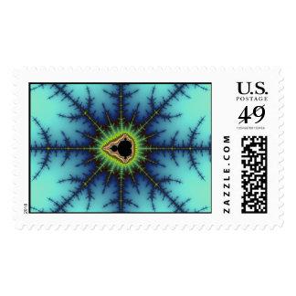 crosshairs postage stamp