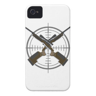 Crosshairs sniper rifle hunting iPhone 4 cover