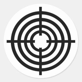 Crosshairs Stickers