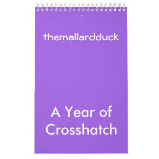 Crosshatch calendar