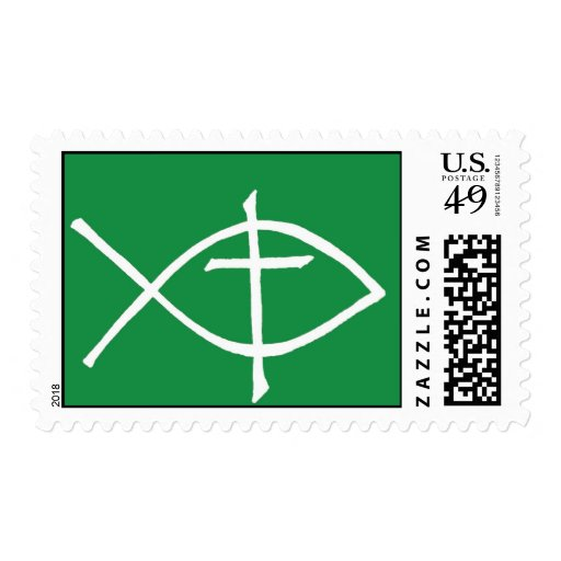 crossicthusgreen stamp