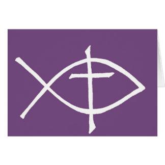 crossicthuspurple tarjeta de felicitación