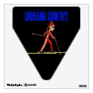 Crossing Country Wall Decal