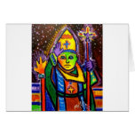 Crossing Guard by Piliero Greeting Cards